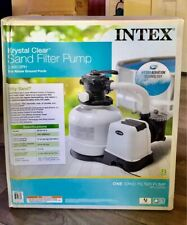 Intex 2800 GPH Above Ground Pool Sand Filter Pump with Automatic Timer Brand New