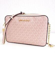 Michael Kors Shoulder Bag Jet Set Item LG Ew Crossbody Pink New