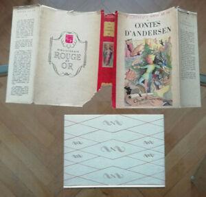Les Contes d'ANDERSEN & A JOURCIN éd G.P 1949