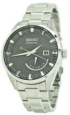Seiko Kinetic SRN045 Black Dial Stainless Steel Men's Watch