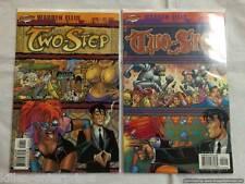 Two-Step #1-2 Comic Book Set Cliffhanger! Wildstorm DC 2003
