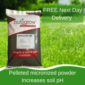25KG Granulated Garden Lime - Correct Soil pH - FAST ACTING