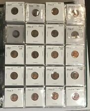 1940s-1970s Lincoln Penny's Mixed Binder —535–Coins