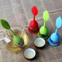Hot Tea Infuser Loose Leaf Strainer Silicone Herbal Spice Filter Diffuser Ball