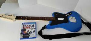 Fender Jaguar Wireless Guitar PS4 Blue PlayStation 4 051-064 Rock Band 4 game