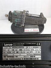 Lenze Mdskars056 22 Servo Motor With Transmission