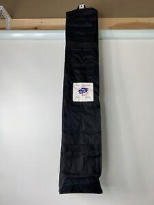 "E Z Easy Eazy Up Wheeled Bag Storage Black 8.5"" X 8"" X 44"""