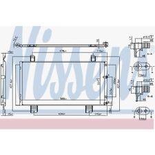 Nissens Kondensator, Klimaanlage Lexus IS II 94950 Lexus IS II GSE2_, ALE2_,