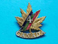 Wwi #4 Canada Overseas Hat Pin