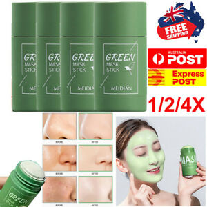 Green Tea Purifying Clay Stick Mask Oil Control Anti-Acne Fine Cleansing Masks