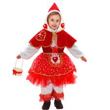 Vestito Costume Cappuccetto Rosso 4/5 anni Carnevale Pegasus Party