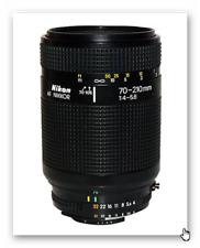 Nikon AF Nikkor 70-210mm f/4-5.6 Ø62mm Auto Focus zoom Lens w/pouch&CPL filter