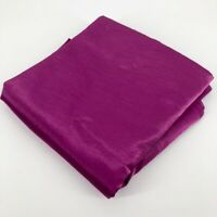 Purple Table Cloth Round 60in X 60in Sateen Fuchsia
