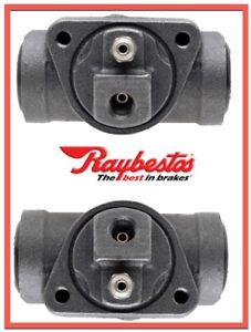 2 Drum Brake Wheel Cylinders Raybestos Rear Replace OEM # 18029229
