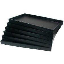 12 Trays 12 Black Velvet Inserts Pads Jewelery Liners Bracelets Necklaces