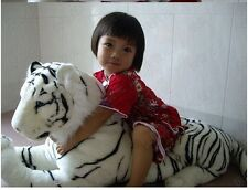 110cm Giant white south china tiger stuffed animal plush soft toy Doll Xmas gift