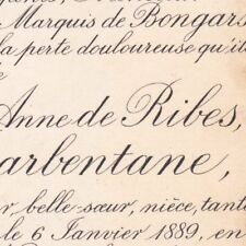 Marthe Marie Anne De Ribes Robin De Barbentane 1889