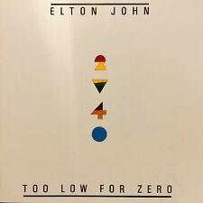 Mastertape: Elton John, Too Low for Zero, 38cm/s