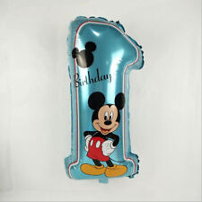 Mickey Mouse Foi Number Happy Birthday Party Home Decoration Celebration Number