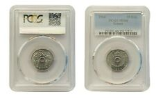 MS 66 PCGS 10 Lepta Holed Greece 1964 Paul I & Constantine II UNC # 78  From 1$