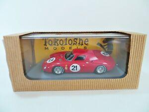 TOKOLOSHE 10 'NART FERRARI 250LM #21. WINNER LE MANS 1965' 1:43 MIB/BOXED