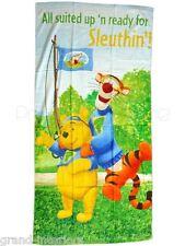Disney Winnie l'ourson Sleuthin garçons filles enfants plage serviette de bain / natation