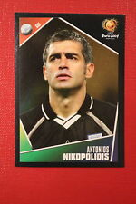 Panini EURO 2004 N. 31 HELLAS NIKOPOLIOIS NEW With BLACK BACK TOPMINT!!