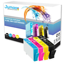 4 cartouches Jumao compatibles pour HP Photosmart e-All-in-One 7510 6520 6525