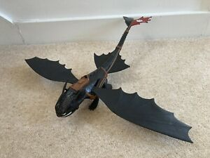 How to train your dragon large toothless Figure Light Up Mouth Breathing