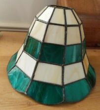 Stained Glass Lampshade Ceiling Light Shade Leaded Panels Versatile Bell Shape