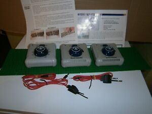 BACHMANN 36565 TRAIN CONTROLLER WITH LEADS POWER CLIP  INSTRUCTIONS  JOB LOT 3