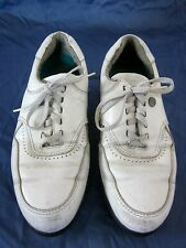 HTF! Rare Vintage Converse USA Low Top GOLF Shoes w/ Cleats Size Mens Worn 8 1/2