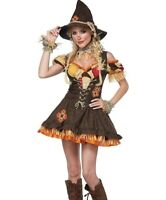 Sassy Scarecrow Costume Adult Womens Sexy Wizard of Oz Scare Crow