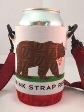 Koozie Holder Necklace Drinkstrap Beer Soda Pop Can Bottle Cooler New Republic