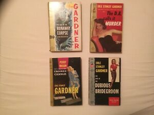 LOT OF 14 PERRY MASON PAPERBACKS + 4 BY OTHERS EARLE STANLEY GARDNER 10 FIRST