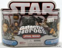 Star Wars Galactic Heroes Princess Leia in Boushh Disguise and Han Solo