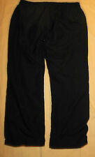 Vtg Nike Athletic Dept. Brand Windbreaker Pants Cotton Liner Black M - L Mens