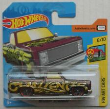 Hot Wheels 1983 Chevy Silverado Pickup auberginemetallic HW Art Cars Neu/OVP ´83