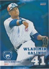 2017 South Bend Cubs Wladimir Galindo RC Rookie Chicago VZ