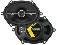 "Kicker 43DSC6804 D-Series 6x8"" 200 Watt 2-Way 4-Ohm Car Coaxial Speakers Pair"