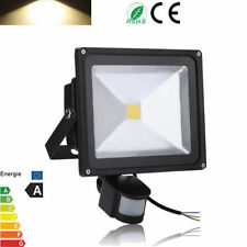 Large LED Floodlight PIR Motion Sensor 30W Outdoor Security Lamp
