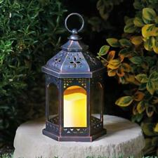 Smart Garden Maroc Lantern with Flickering Candle and Swing Tag 5320005