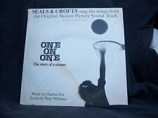 """Warner Brothers BS-3076 Seals & Crofts - One on One 1977 12"""" 33 RPM"""