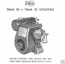 Villiers C12 Mark MK 10 12 10/1 10/2 12/1 12/2 99 c.c 120 c.c. Manuals Parts CD