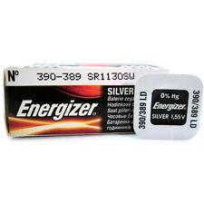 4 x Energizer 390 389 SR54 V390 D390 SR1130SW Watch Batteries