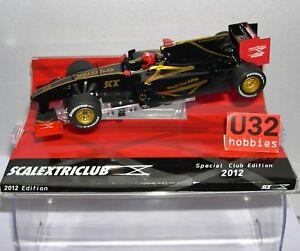Scalextric digital Système D10076S300 Lotus Renault F1 Spécial Club Edition 2012
