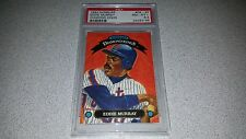 EDDIE MURRAY 1992 DONRUSS DIAMOND KINGS #DK-25 CARD GRADED PSA 8.5 NM-MT POP 7