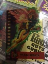 Ultra Fleer X-men Card - Suspended Animation - Jean Grey