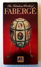 The Fabulous World of Faberge ~ RARE A&E Home Video VHS Movie ~ TV Show Tape