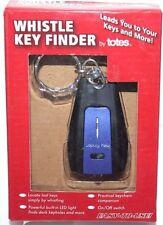 Whistle Key Finder Keychain Built-In Led Light